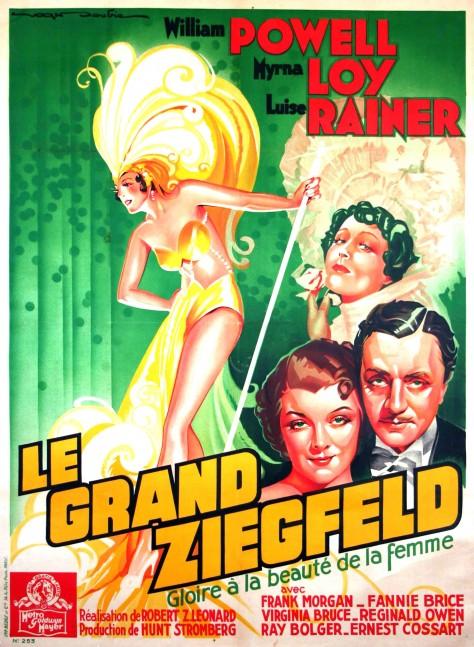 Le Grand Ziegfeld - Affiche FR
