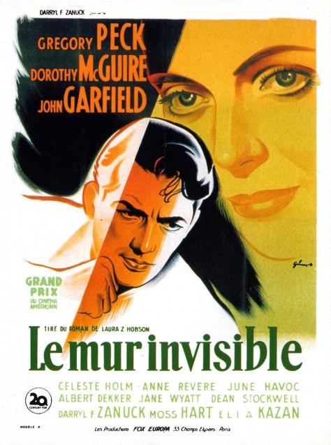 Le Mur Invisible - Affiche FR
