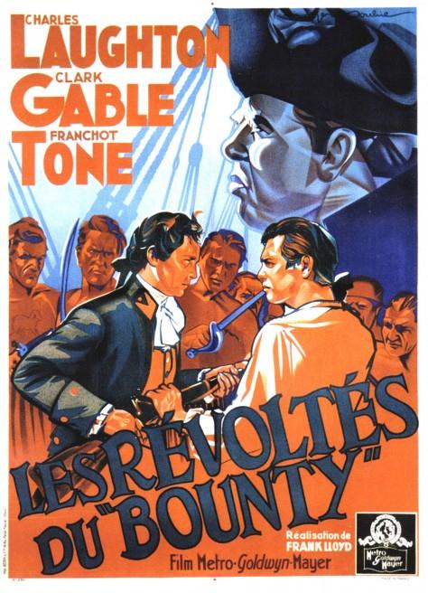 Les révoltés du Bounty (1935) - Affiche France