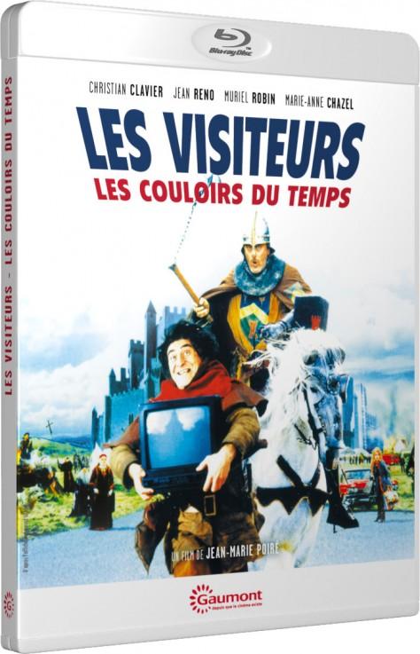 Les Visiteurs II : Les Couloirs du temps - Packshot Blu-ray Gaumont Découverte