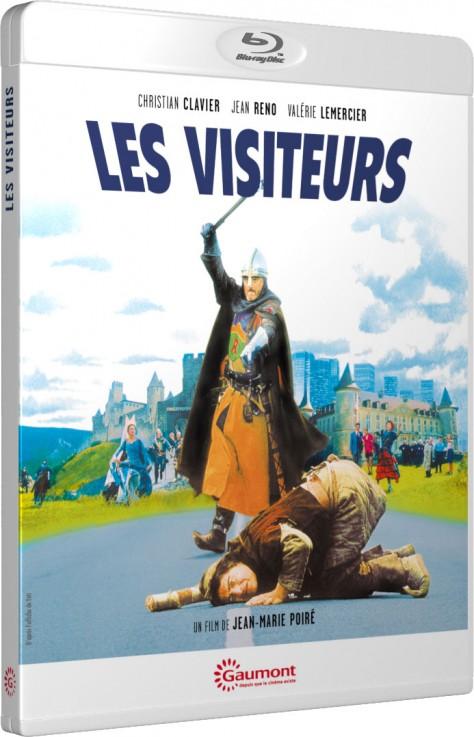Les Visiteurs - Packshot Blu-ray Gaumont Découverte