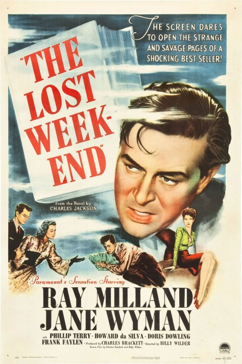 The Lost Weekend - Affiche US