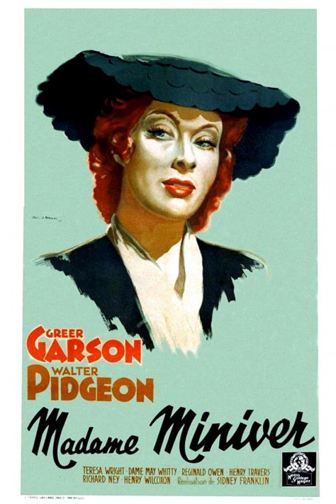 Madame Miniver - Affiche France