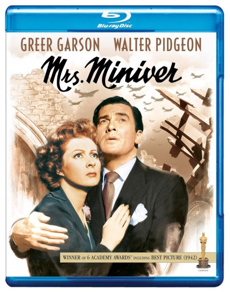 Mrs Miniver - Recto Blu-ray