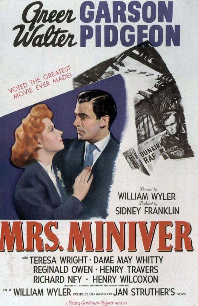 Mrs Miniver - Affiche US