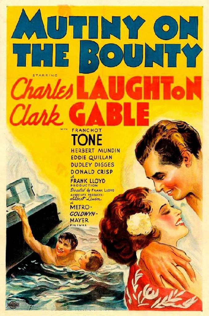 Mutiny on the Bounty (1935) - Affiche US