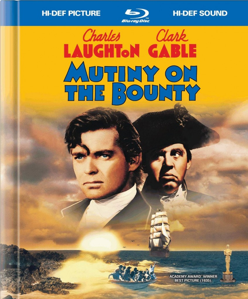 Mutiny on the Bounty (1935) - Recto Blu-ray US