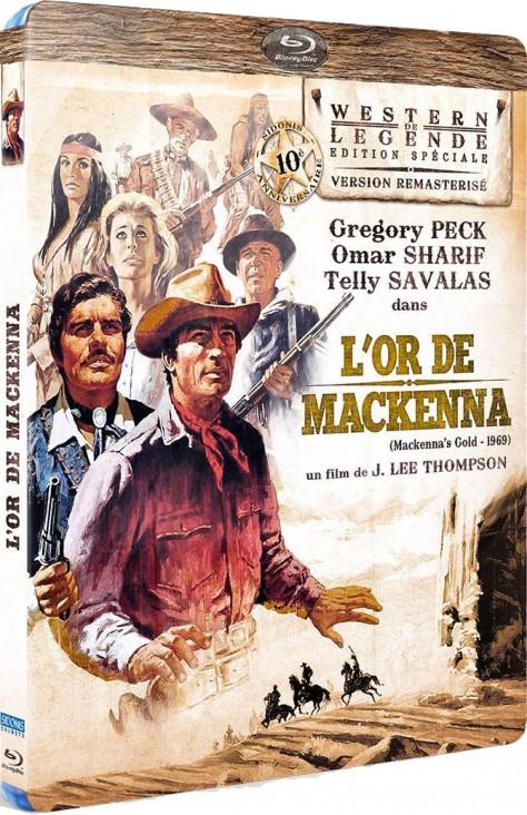 L'Or de MacKenna - Packshot Blu-ray