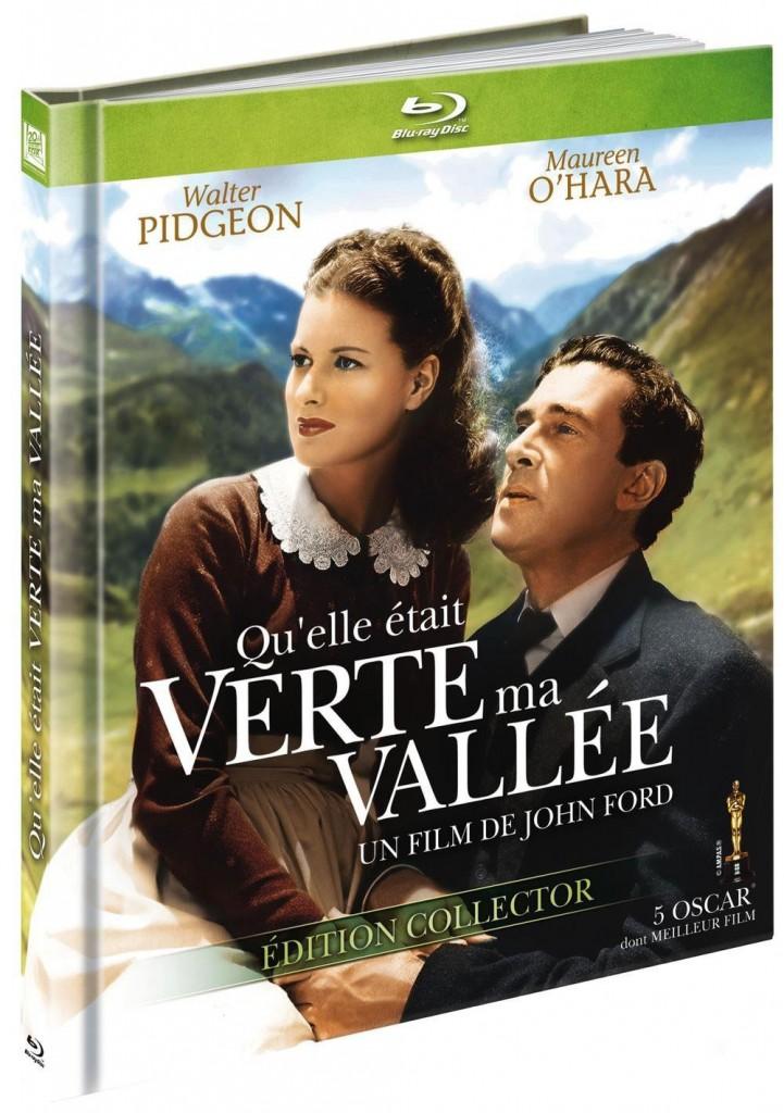 Qu'elle était verte ma vallée - Recto Blu-ray