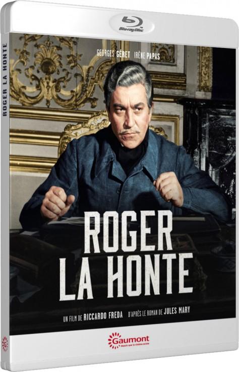Roger la honte (1966) - Packshot Blu-ray Gaumont Découverte
