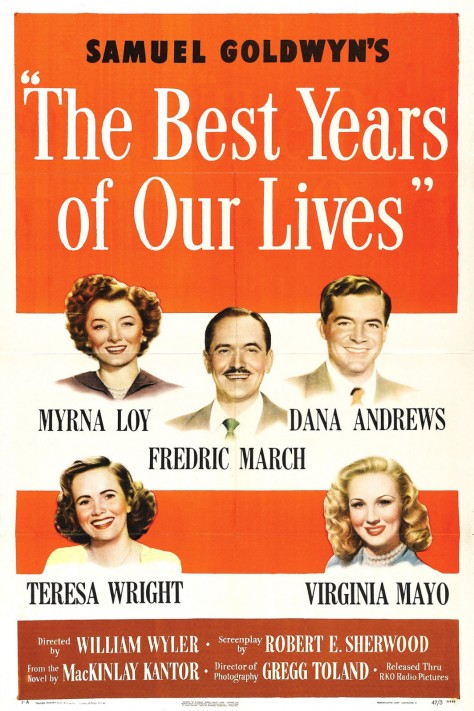 The Best Years of our lives - Affiche US
