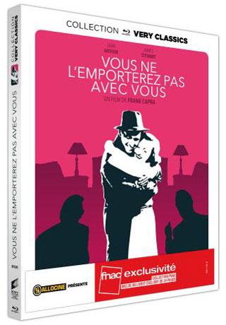 Vous ne l'emporterez pas avec vous - Recto Blu-ray France