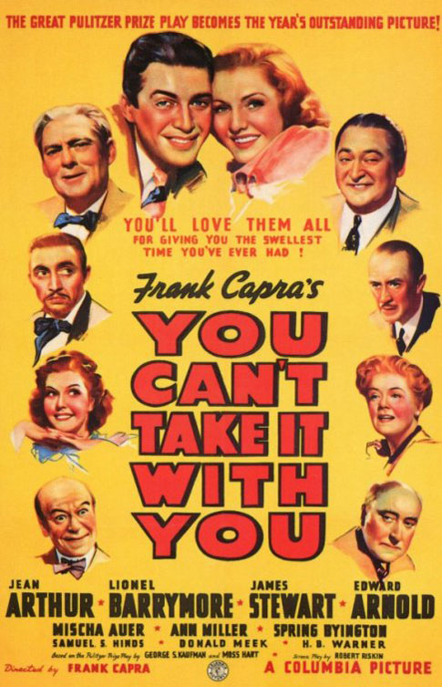 You Can't Take It With You - Afiche US