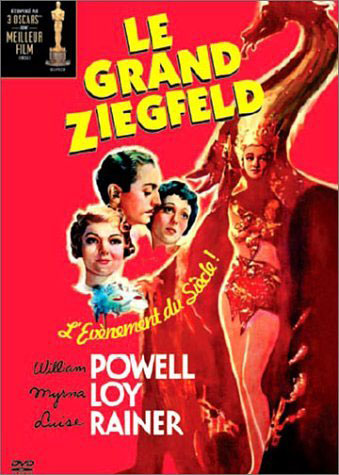 Le Grand Ziegfeld- Recto DVD FR