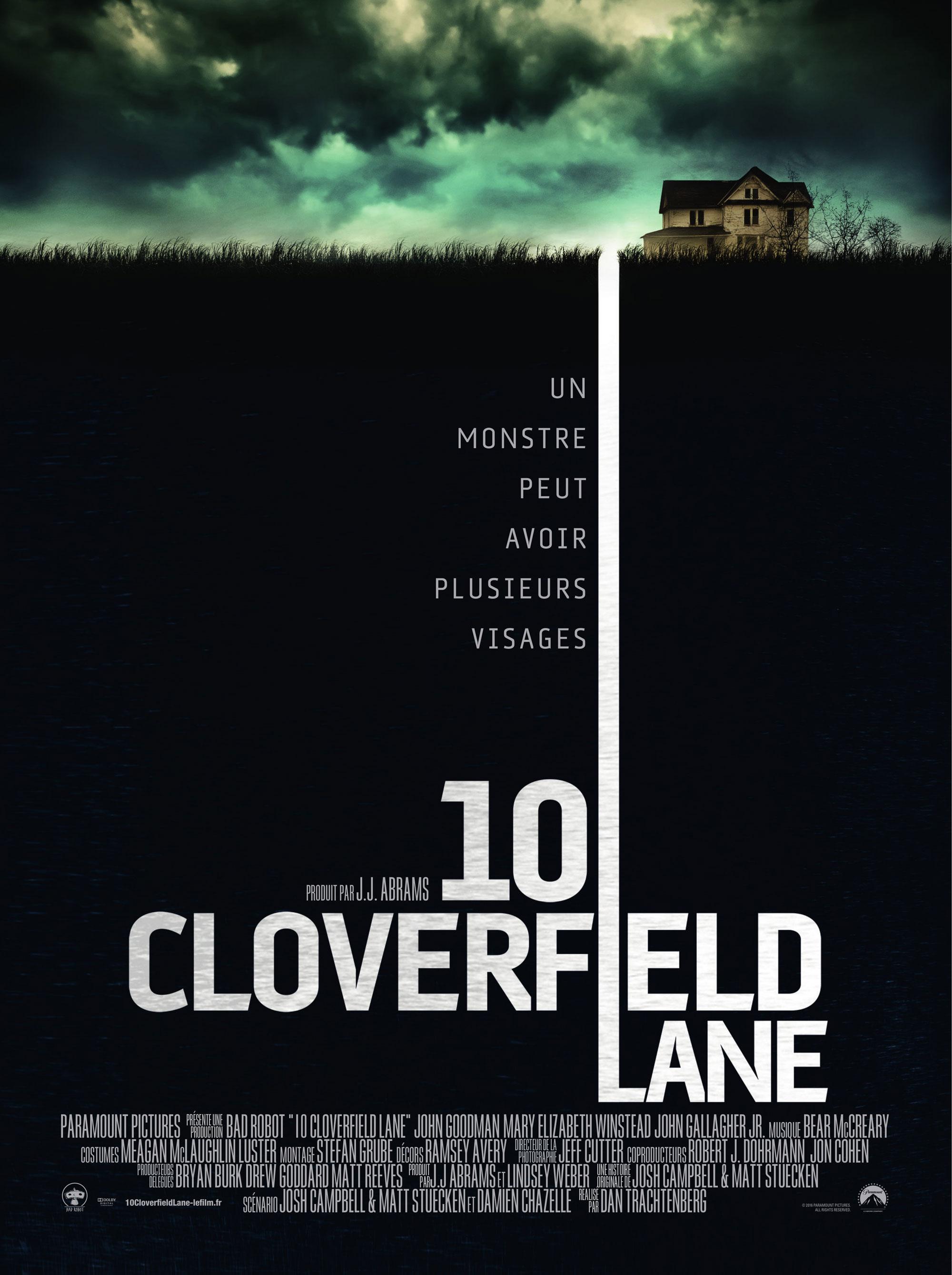 10 Cloverfield Lane - Affiche FR