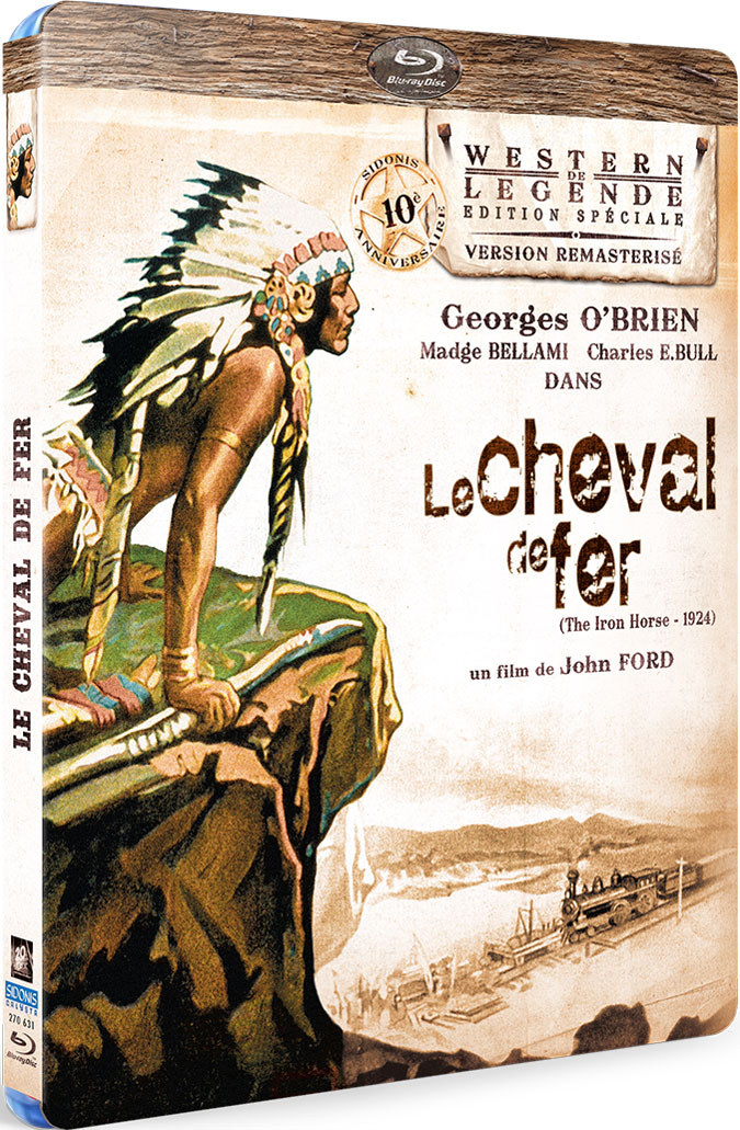 Cheval de fer - Recto Blu-ray