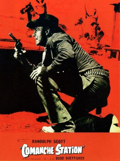 Comanche Station - Affiche FR