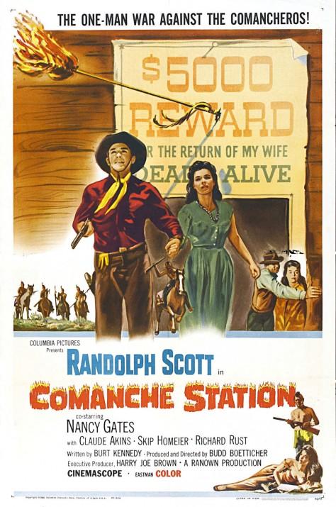 Comanche Station - Affiche US