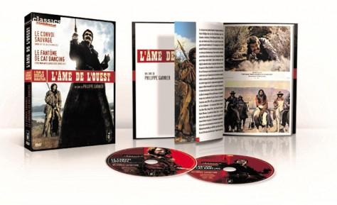 Le Convoi sauvage - Recto DVD ouvert