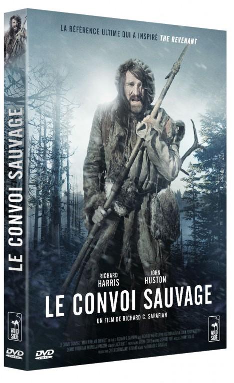 Le Convoi sauvage - Recto DVD 2016