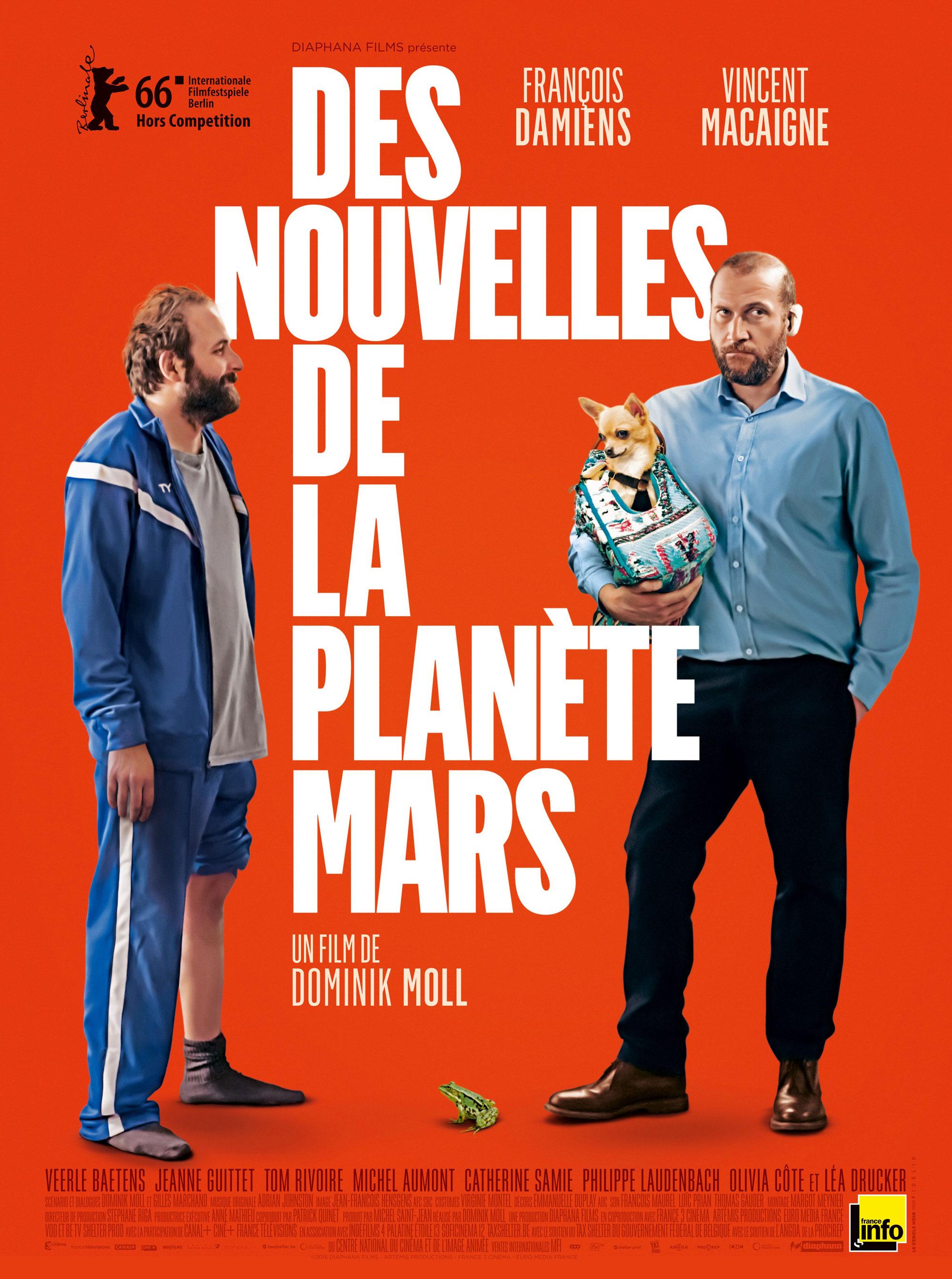 Des nouvelles de la planète Mars - Affiche