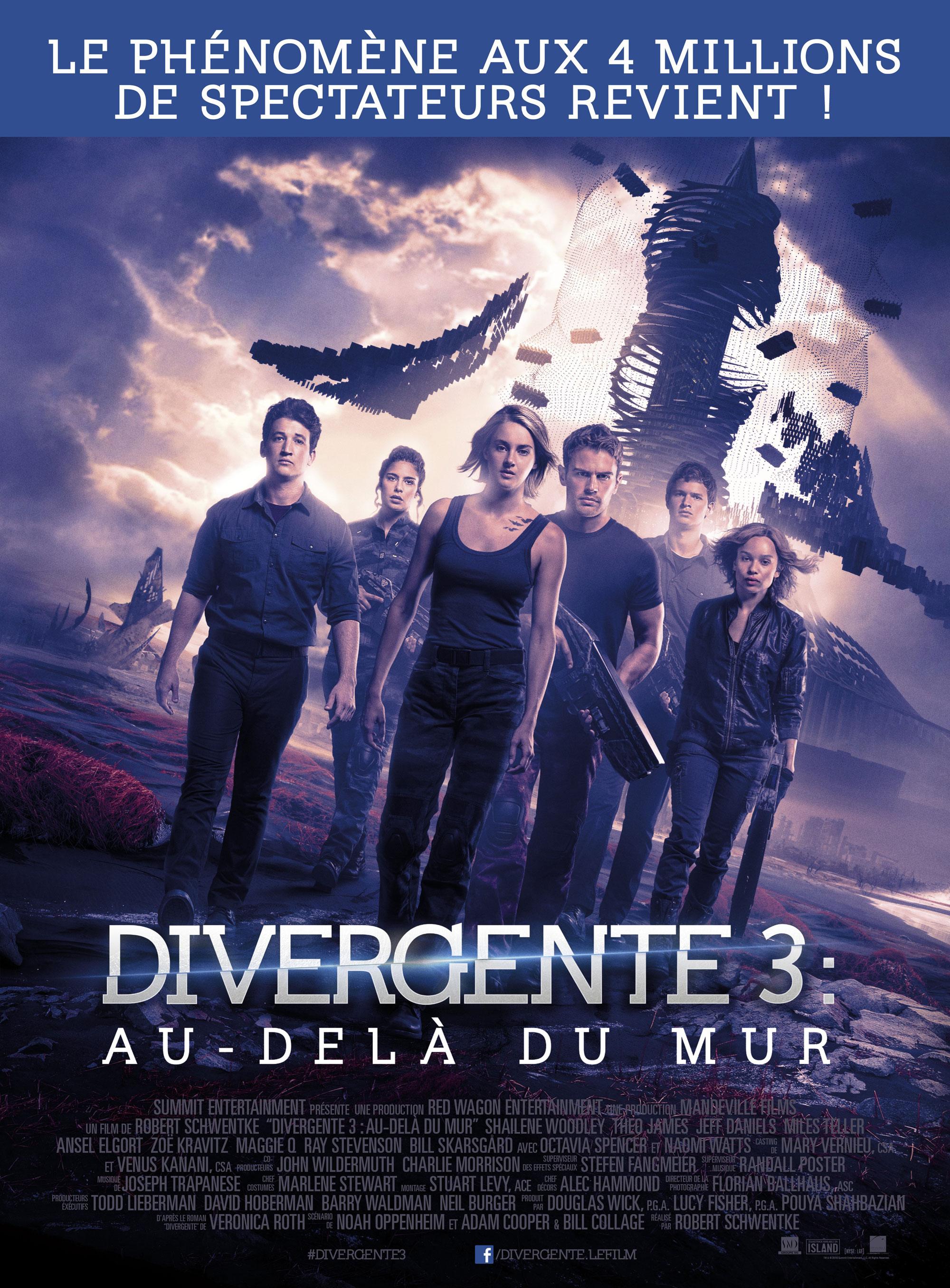 Divergente 3 - Affiche