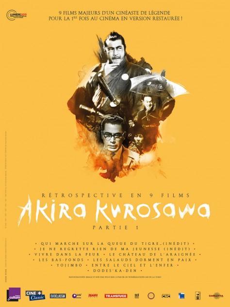 Rétrospective Kurosaw Partie 1 - Affiche