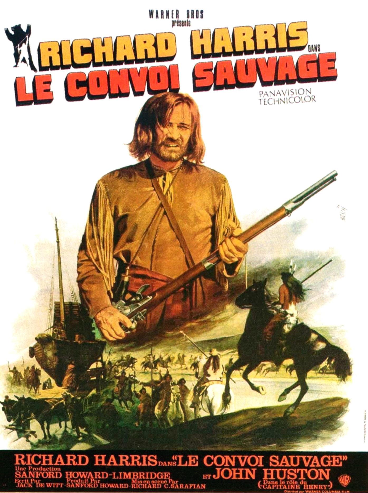 Le Convoi sauvage - Affiche FR