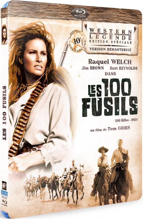 Les 100 Fusils - Recto Blu-ray
