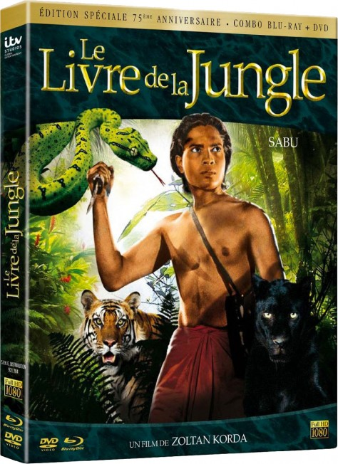 Le Livre de la Jungle - Édition 75ème anniversaire - Packshot Blu-ray