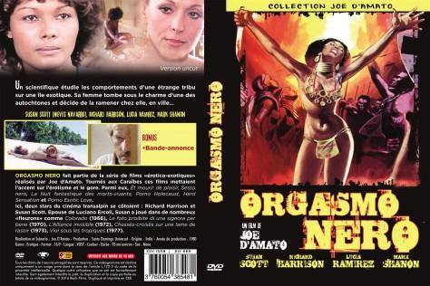 Orgasmo Nero - Jaquette DVD
