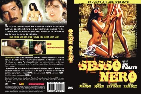 Sesso Nero - Jaquette DVD