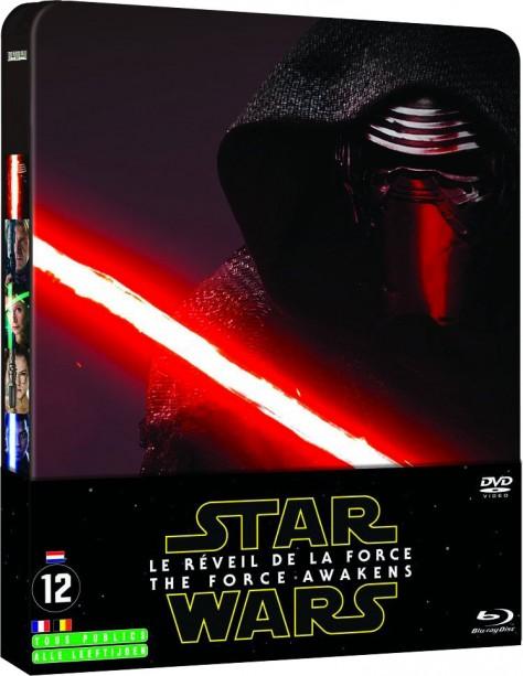 Star Wars VII : Le Réveil de la Force - Packshot Blu-ray