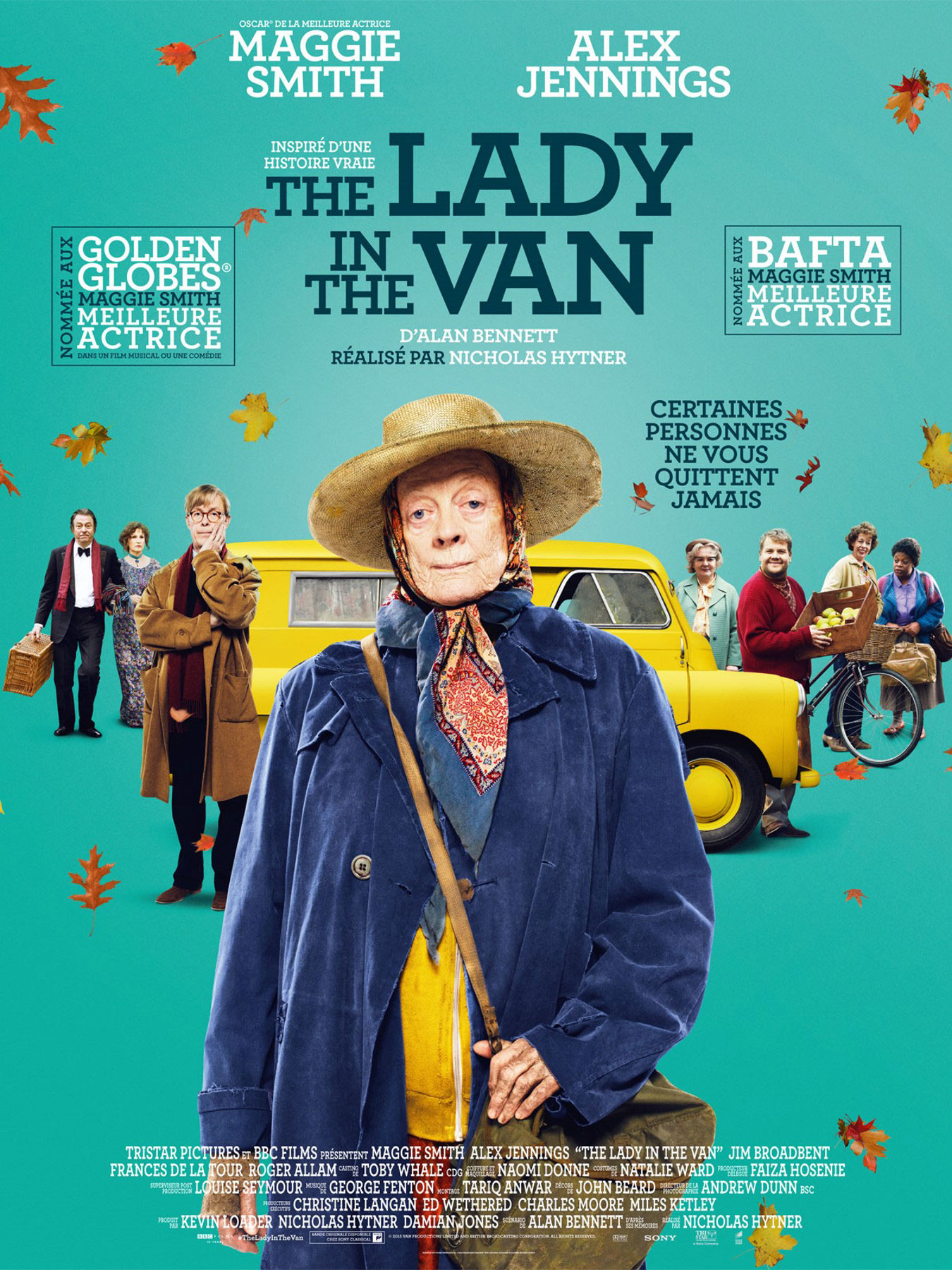 The Lady in the Van - Affiche