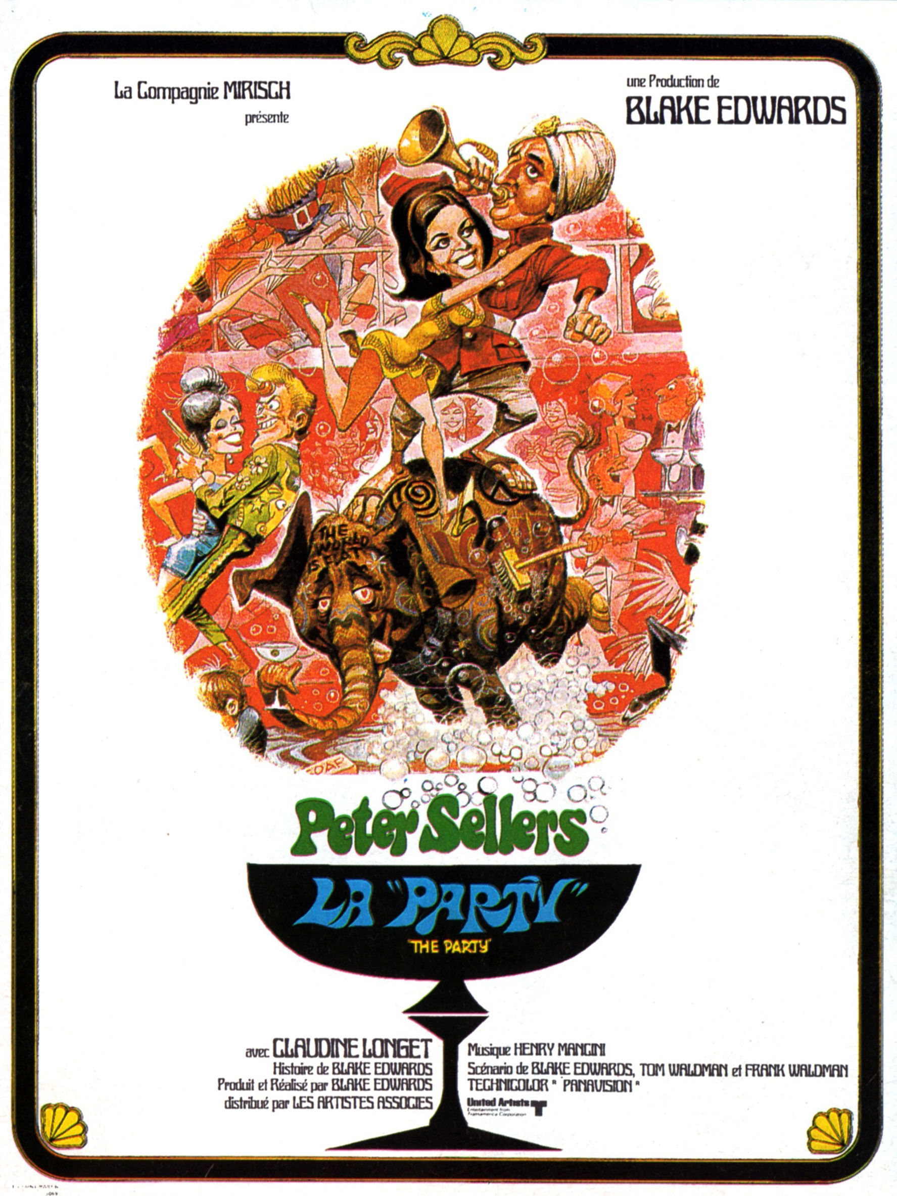 The Party - Affiche 1969