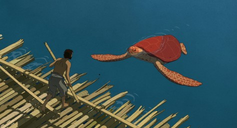 RED TURTLE Tortue rouge cannes