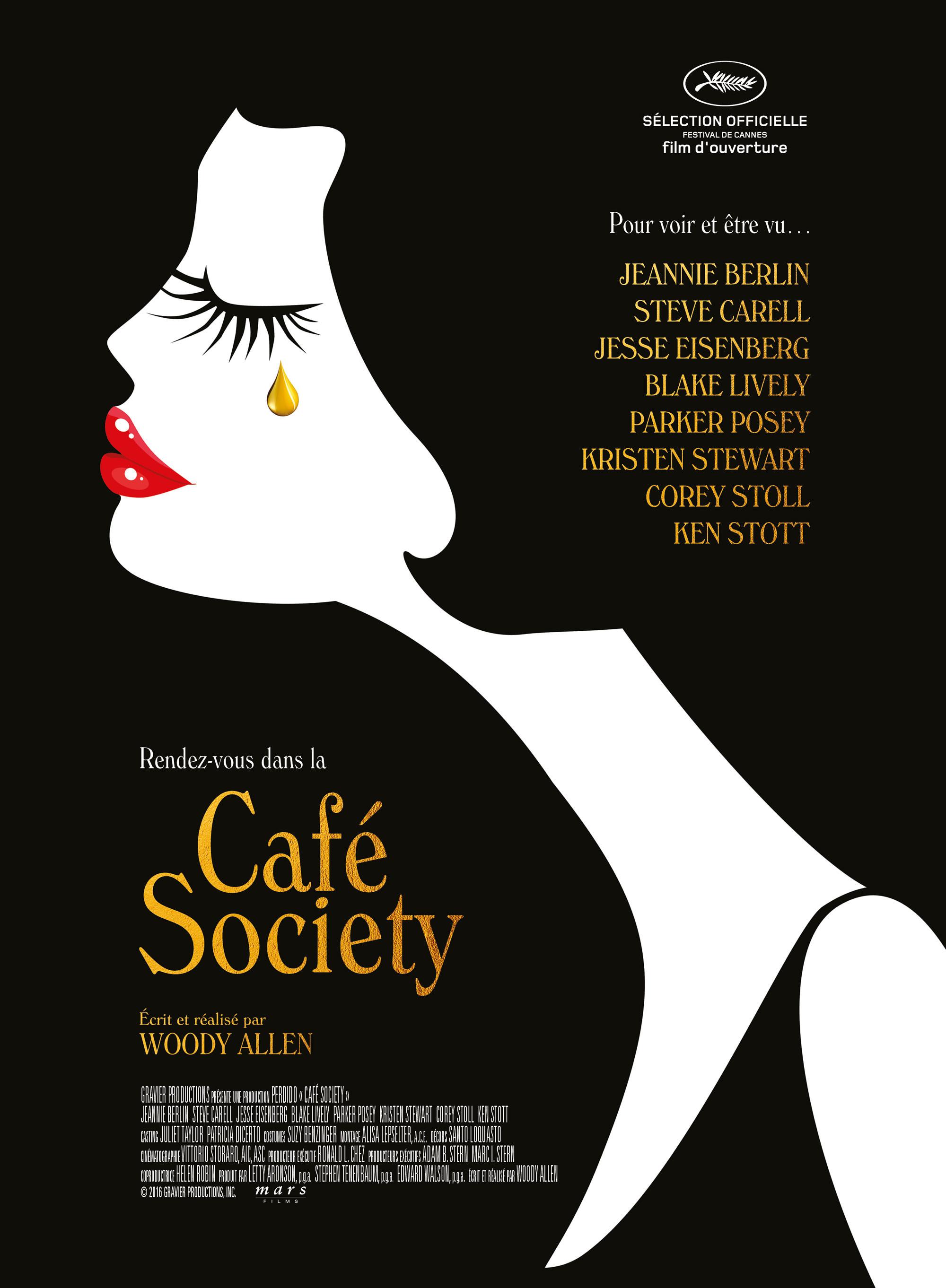 Café Society - Affiche