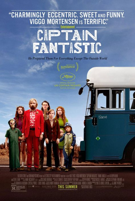 Captain Fantastic - Poster