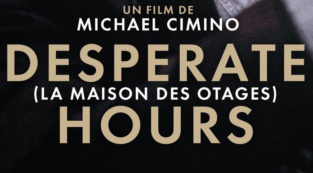 Desperate Hours - Une Jeu concours