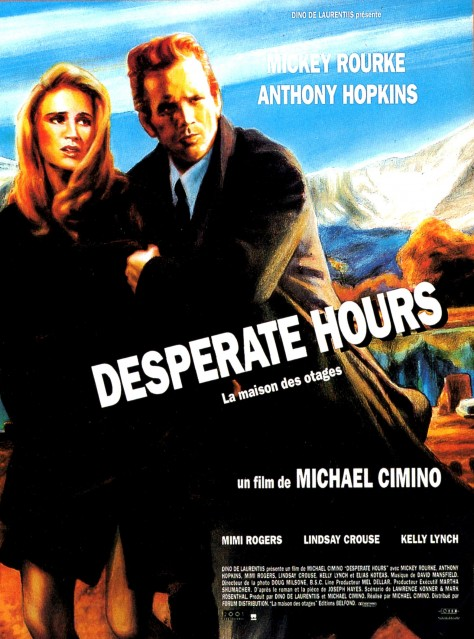 Desperate Hours - Affiche FR 1990