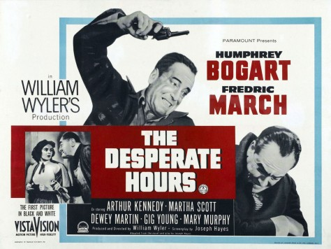 Desperate Hours - Affiche US 1955