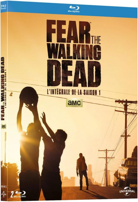Fear The Walking Dead - Saison 1 - Recto Blu-ray