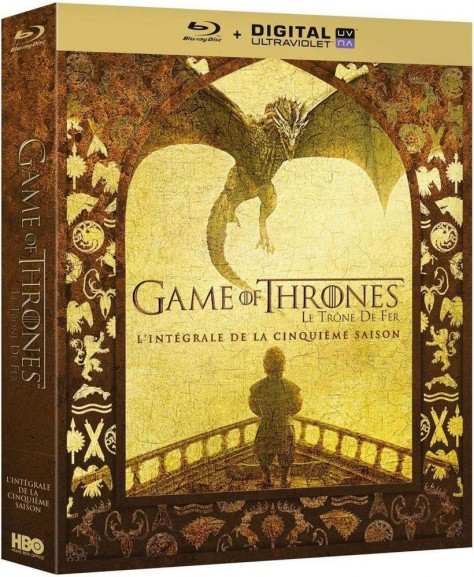 Game of Thrones - Sasion 5 - Recto Blu-ray