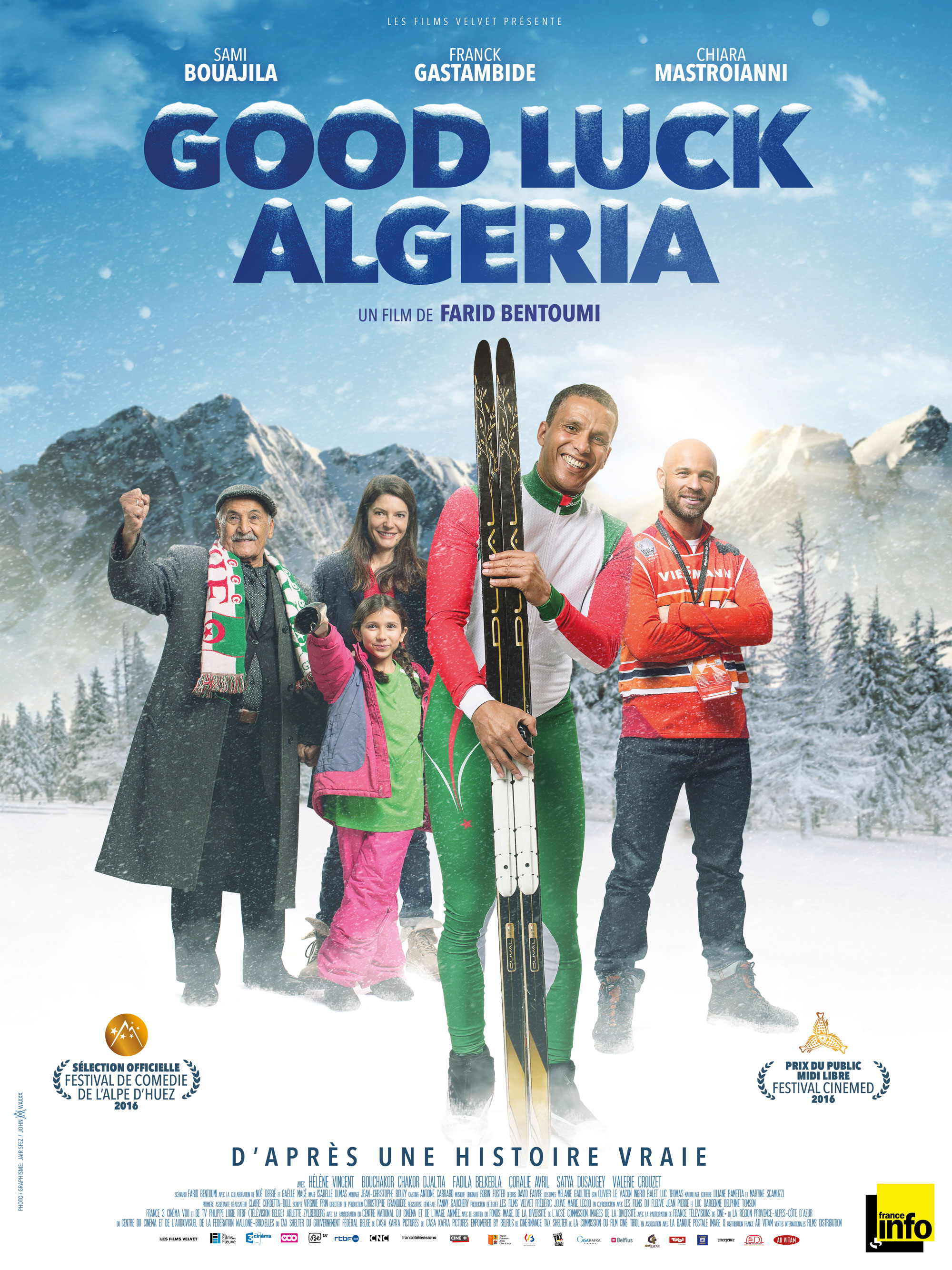 Good luck Algeria - Affiche
