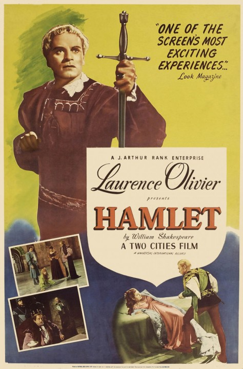 Hamlet - Affiche UK