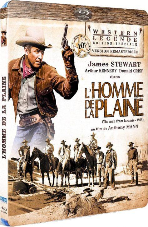 L'Homme de la plaine - Packshot Blu-ray
