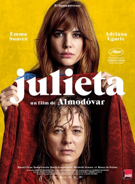 Julieta - Affiche Cannes