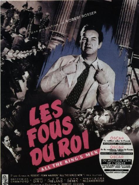 Les Fous du roi - Affiche France