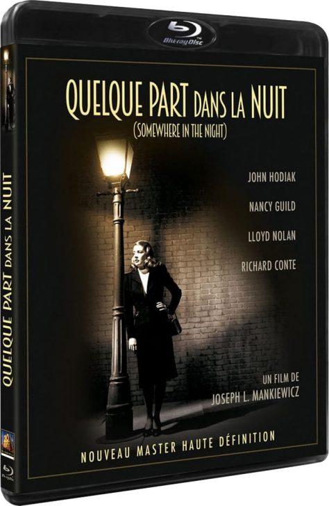 Quelque part dans la nuit - Packshot Blu-ray