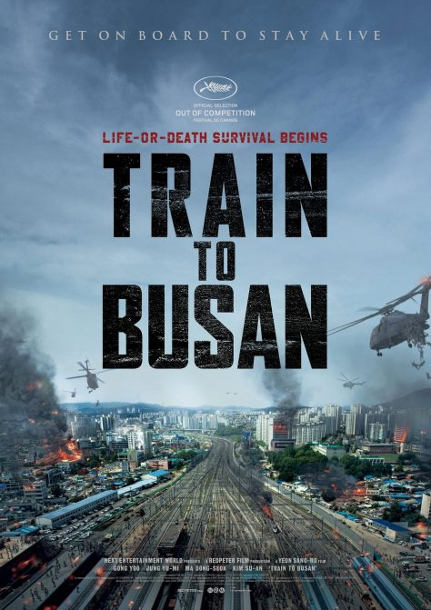 Train to Busan - Affiche Cannes 2016